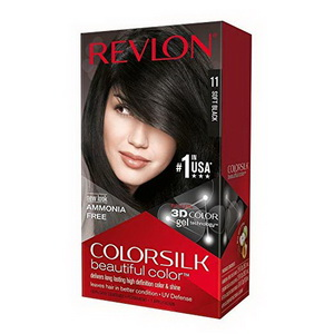 Kem nhuộm tóc màu đen Revlon Colorsilk Soft Black hàng Mỹ xách tay