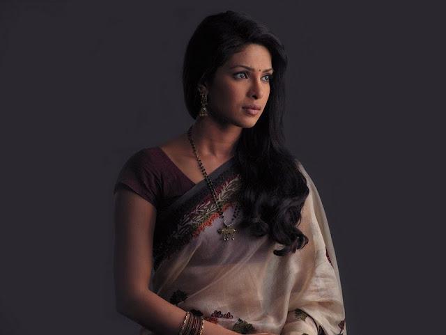 Priyanka chopra in latest saree Wallpaper