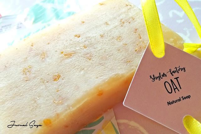 oat natural soap dari bali