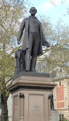 Sir Robert Peel, Parliament Square, London