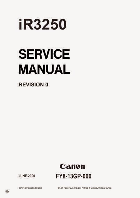 CANON MX850 REPAIR MANUAL