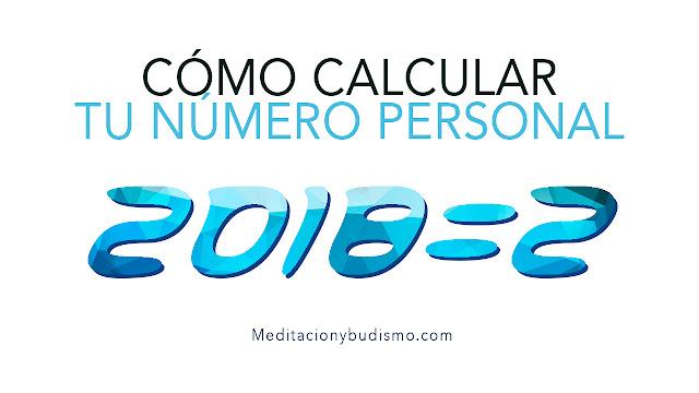 Cómo calcular tu número personal