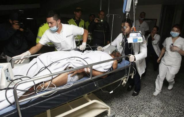 Confirman 76 personas fallecidas accidente aéreo Colombia