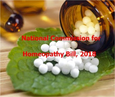 National Commission for Homeopathy Bill, 2018 approved