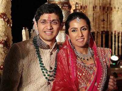 CHANDA kochhar daughter Aarti Marriage Photos1