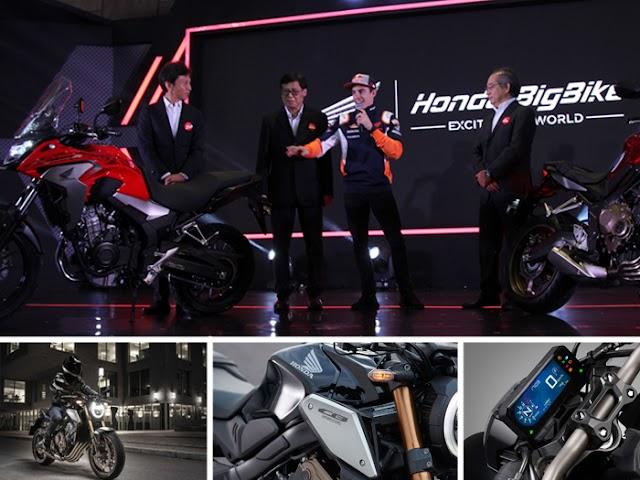 Honda CB650R Hadirkan Desain dan Fitur Terbaru