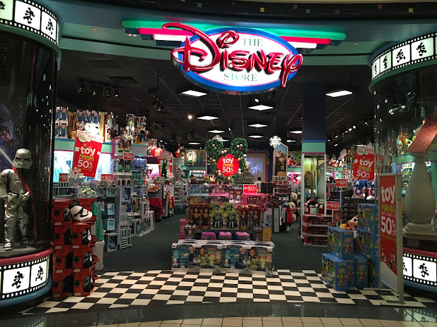 Of Disney Stores In Cindy' Shoes