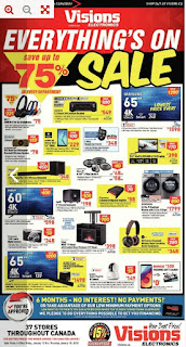 Vision Electronics Sale Save up 75% Jan 12 – Jan 18, 2018