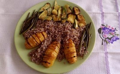piatto unico con farro e verdure