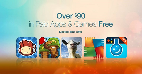 Amazon's Appstore offers 35+ paid Android apps and games worth over $90 for FREE