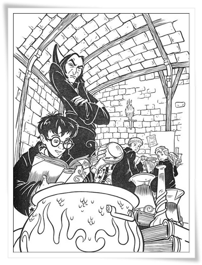 malvorlagen hexen und zauberer