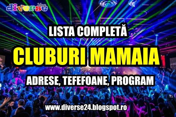 Lista completa a cluburilor din Mamaia