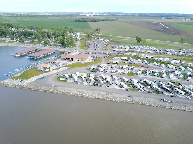 The Cottonwood Cove, Blair Nebraska, RV Resort & Marina