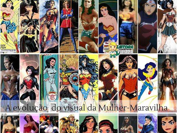 A evolução do visual da Mulher-Maravilha