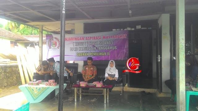 Fraksi Demokrat DPRD Tanggamus Jaring Aspirasi Masyarakat