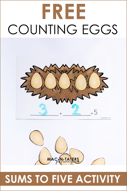 Adding to 5: Farm Themed Beginning Addition practice
