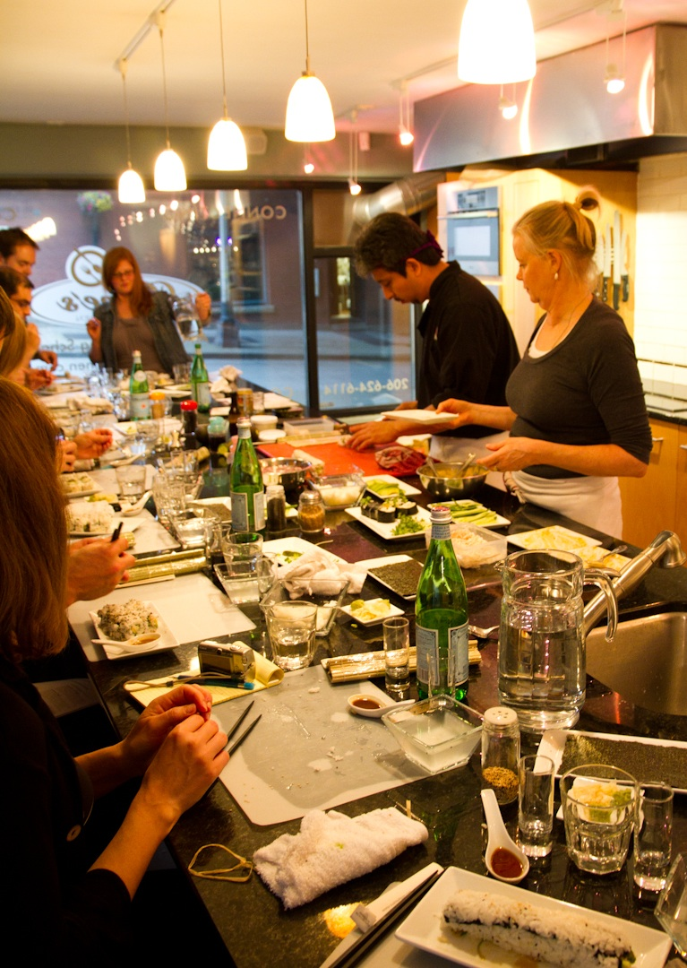 Recipe Resolution A Culinary Adventure Sustainable Sushi Class at Dianes Market Kitchen