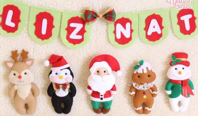 Moldes Gratuitos de Natal em Feltro