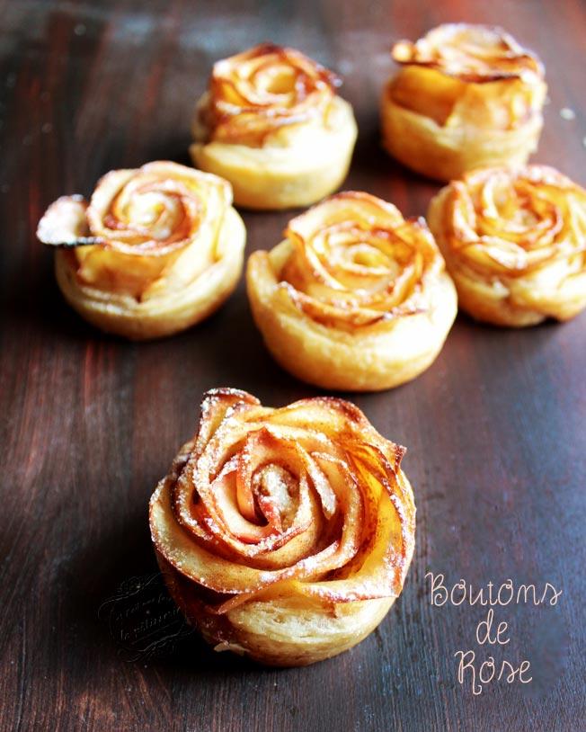 recette pomme rose