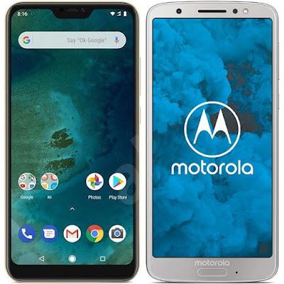 Xiaomi Mi A2 Lite 32G vs Motorola Moto G6 32 GB