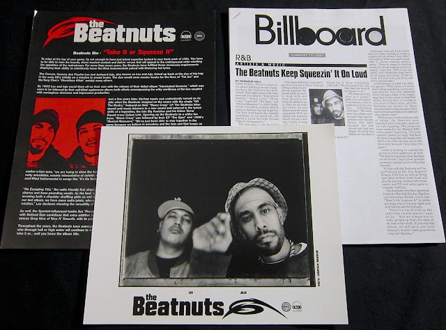 The Beatnuts Take It Or Squeeze It Press Kit 2001