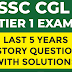 SSC CGL Tier 1 Previous Years History Questions e-book Pdf