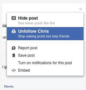 Blocking Someone On Facebook