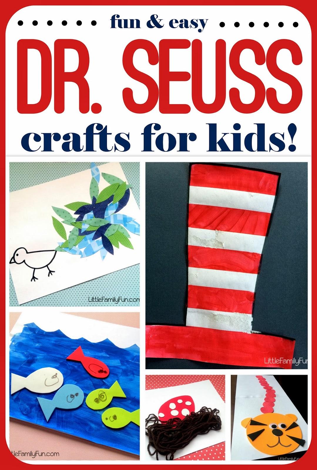 Dr Seuss Craft Ideas