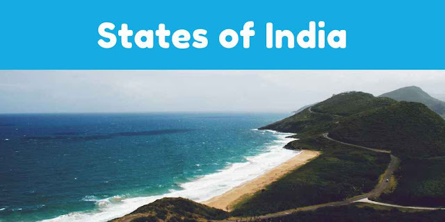 List of All States and their Capitals of India with Union Territories