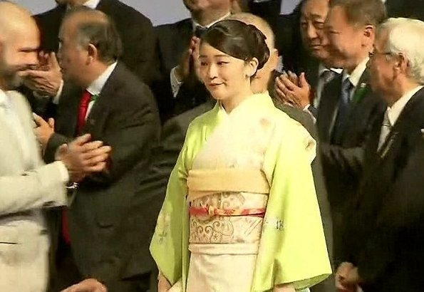 Princess Mako visited the 21st Japan Festival, a three-day event showcasing Japanese cuisine, culture and products