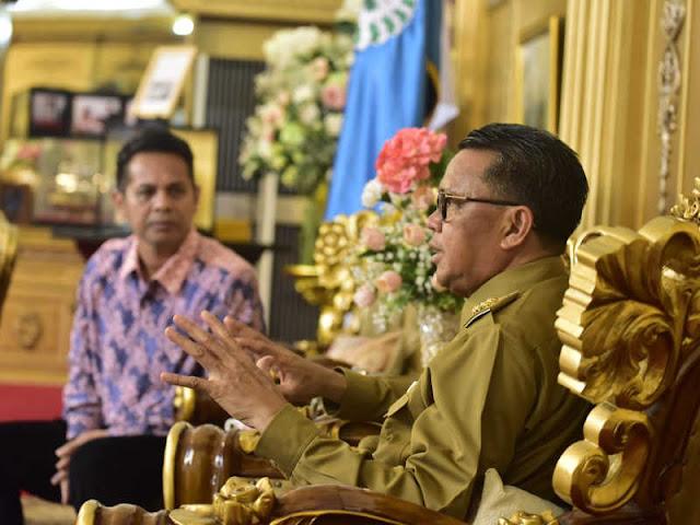 BPJS Ketenagakerjaan Butuh Support, Sudirman Simamora Temui Nurdin Abdullah