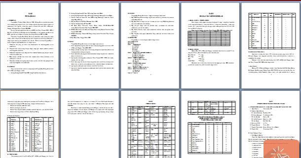 Download Contoh Program Kerja Wakasek Kurikulum Mts Wiki