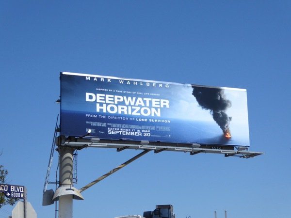 Deepwater Horizon film billboard