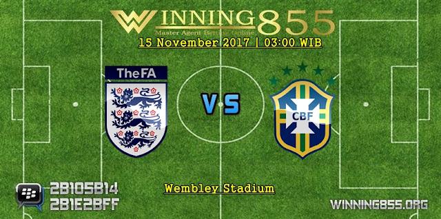 Prediksi Bola Inggris vs Brazil 15 November 2017