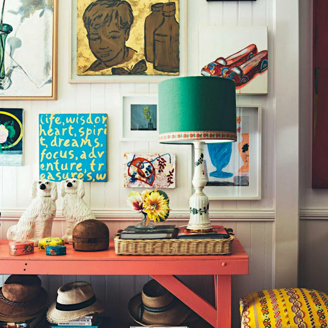 Decor inspiration at home with anna spiro 39 s colourful for Anna decoration in home