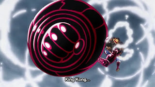 gomu gomu no king kong gun