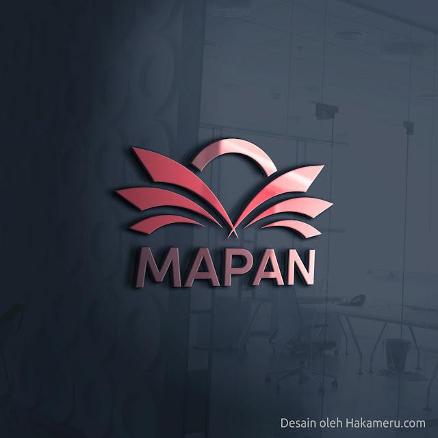 Desain logo untuk organisasi komunitas UMKM Mapan (Mandiri Pancoran Mas) Depok