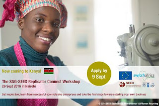SAG-SEED Replicator Workshop for Aspiring African Entrepreneurs 2018 South Africa