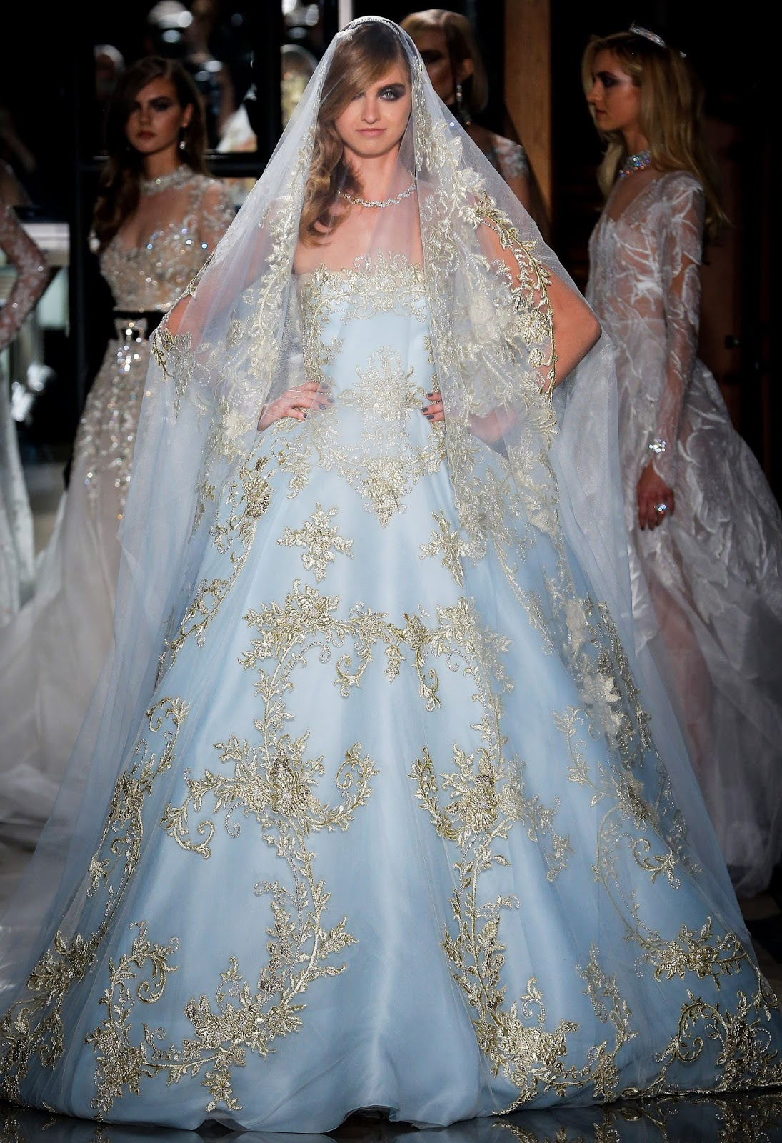 Vestidos de novia de colores ¡14 LINDAS OPCIONES CON IMÁGENES ...