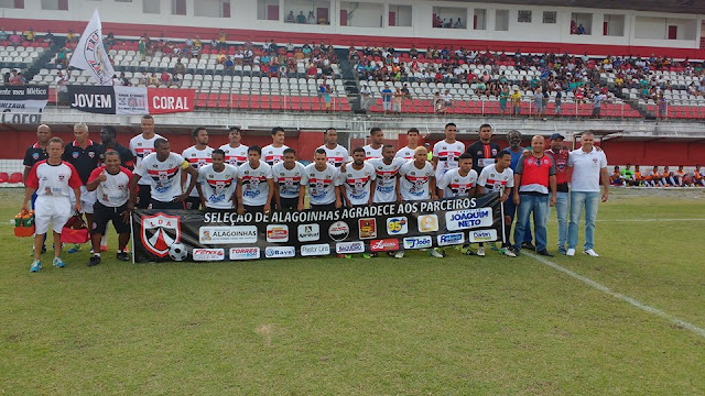 Seleção de Alagoinhas garante vaga para oitavas de final, do Campeonato Intermunicipal