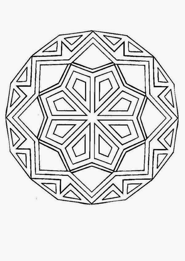 Coloring Pages Basic Mandala Coloring Pages Free And