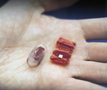 Μικροσκοπικά ρομπότ οριγκάμι θα μας καθαρίζουν το στομάχι