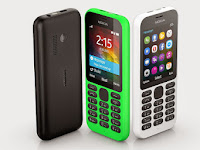 Nokia 215 Dan Nokia 215 Dual SIM, Featurphone Internetan Yang Super Murah