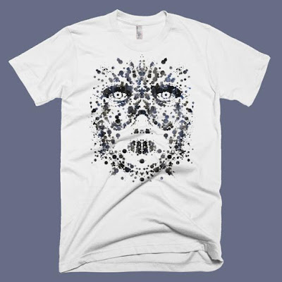 "Silence of the Lambs ""The Silent Rorschach Test"" T-Shirt by Todd Slater x Skuzzles"