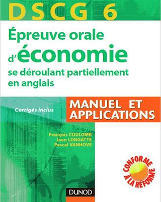 Télécharger Livre Gratuit DSCG 6 - Épreuve orale d'économie se déroulant partiellement en anglais pdf