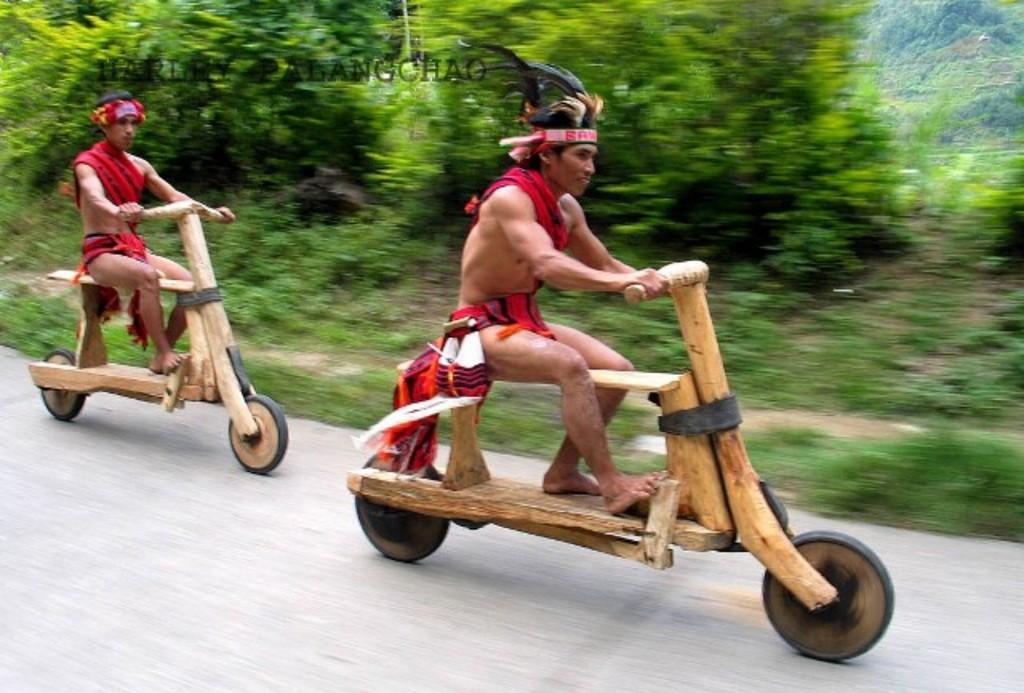 Kumpulan Foto Sepeda Motor Lucu dan Unik di Dunia  Den Abez