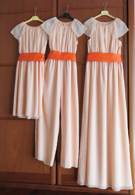 como hacer tres trajes diferentes con el mismo modelo de vestido