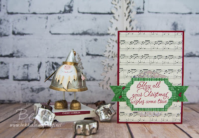 Peace This Christmas Card from Christmas Card Class - Get the details and take classes here