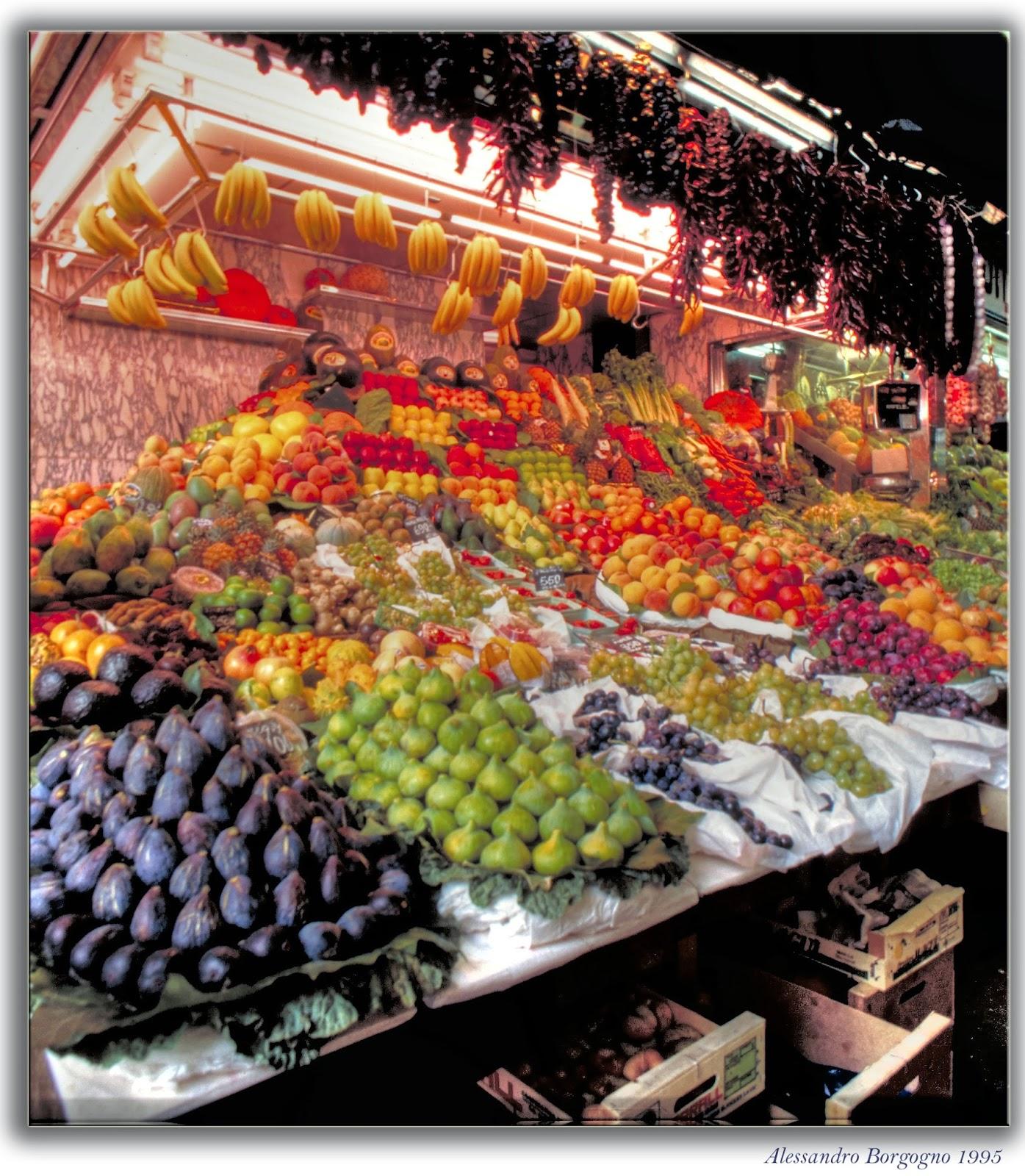 Barcellona - Mercato della frutta