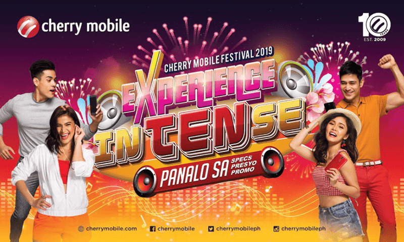Get freebies during Cherry Mobile Festival 2019!